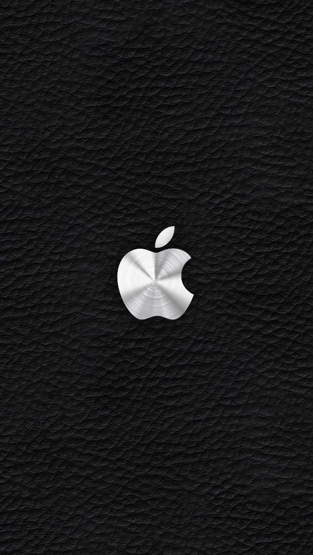 Apple On Leather Bl