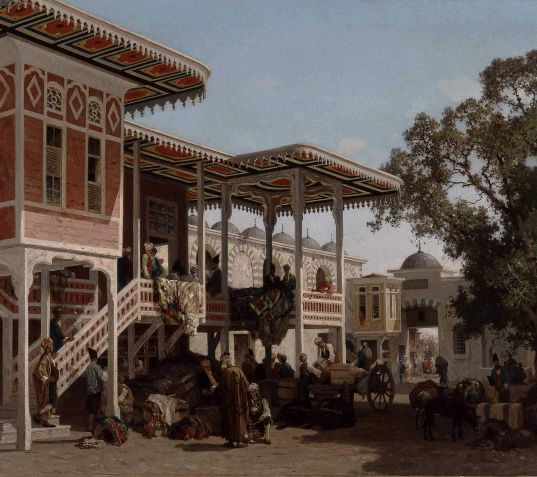oriental paintings