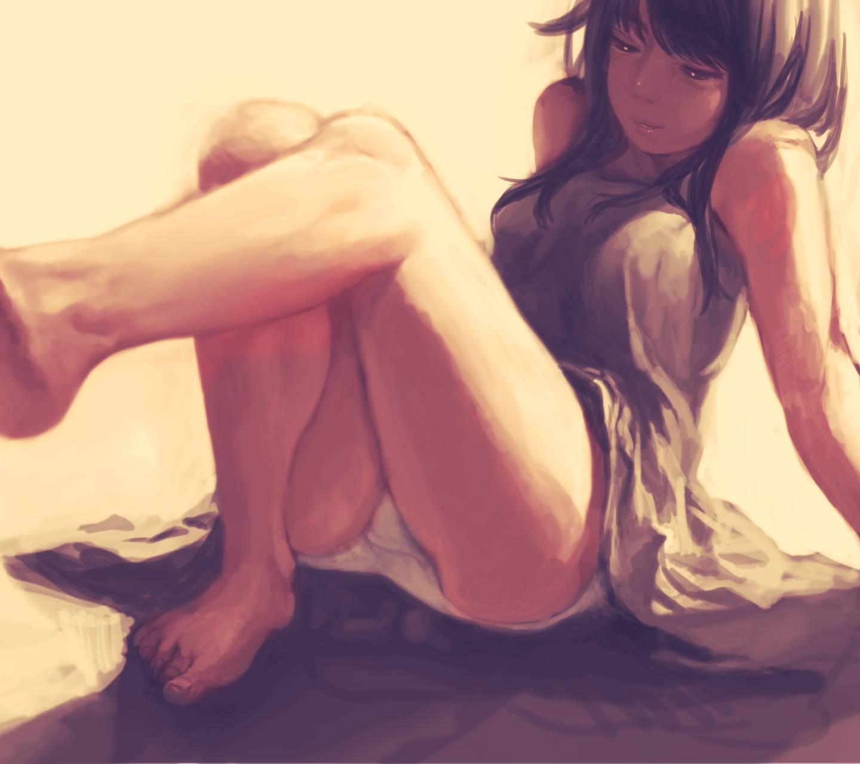 Girl Anime art