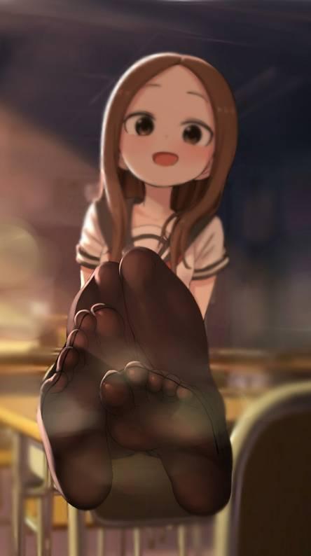 Anime Girl Feet