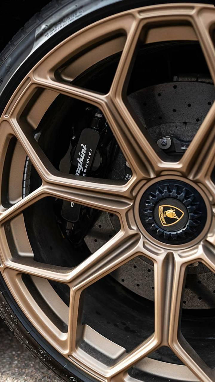 Gold SVJ wheel