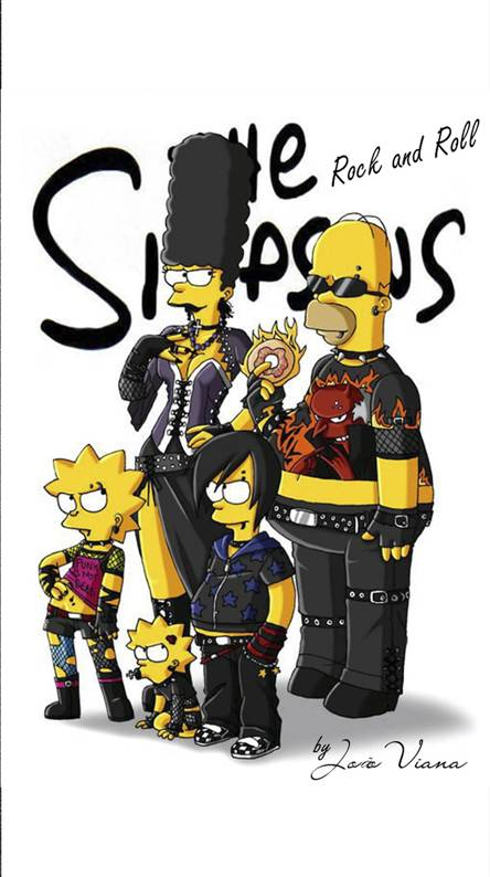 OS SIMPSONS ROCK