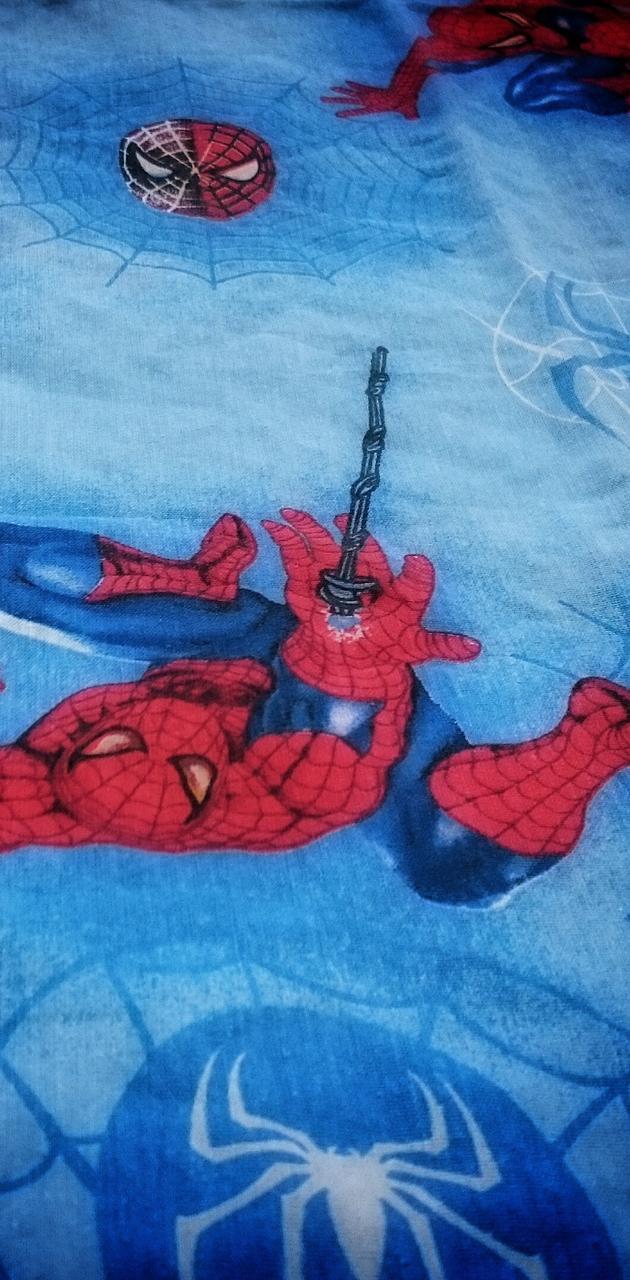 Spiderman is watchin