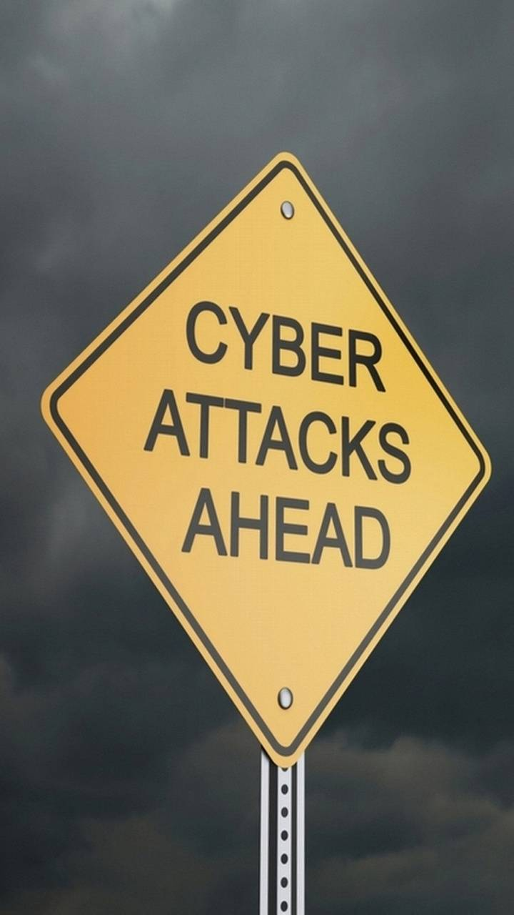 CYBER ATTACKS SIGN