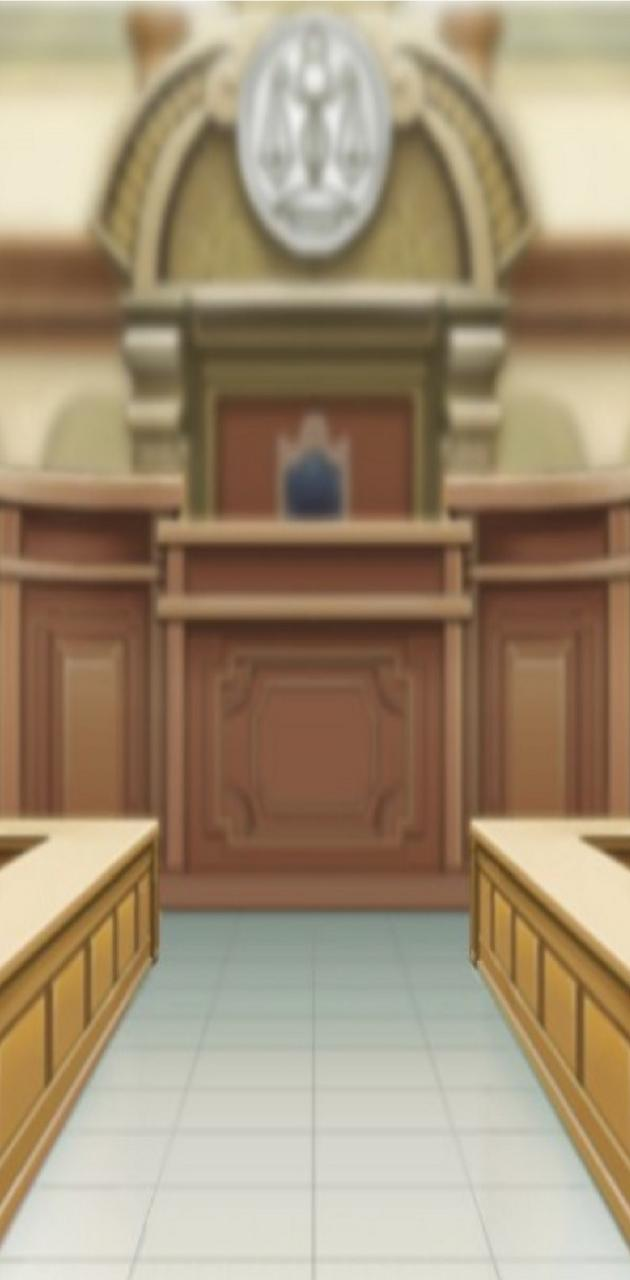 Ace Attorney Court