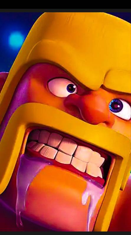 Clash of clans angry