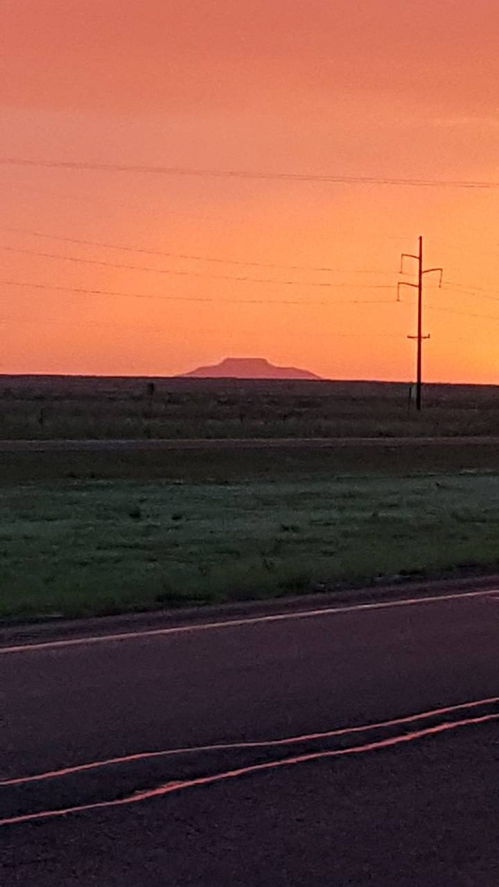 Sunset in Texas