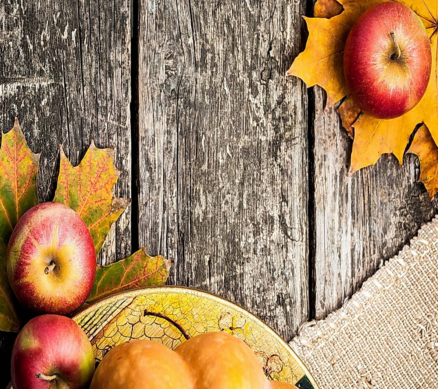 Autumn Apples Wallpaper By Marika 96 Free On Zedge