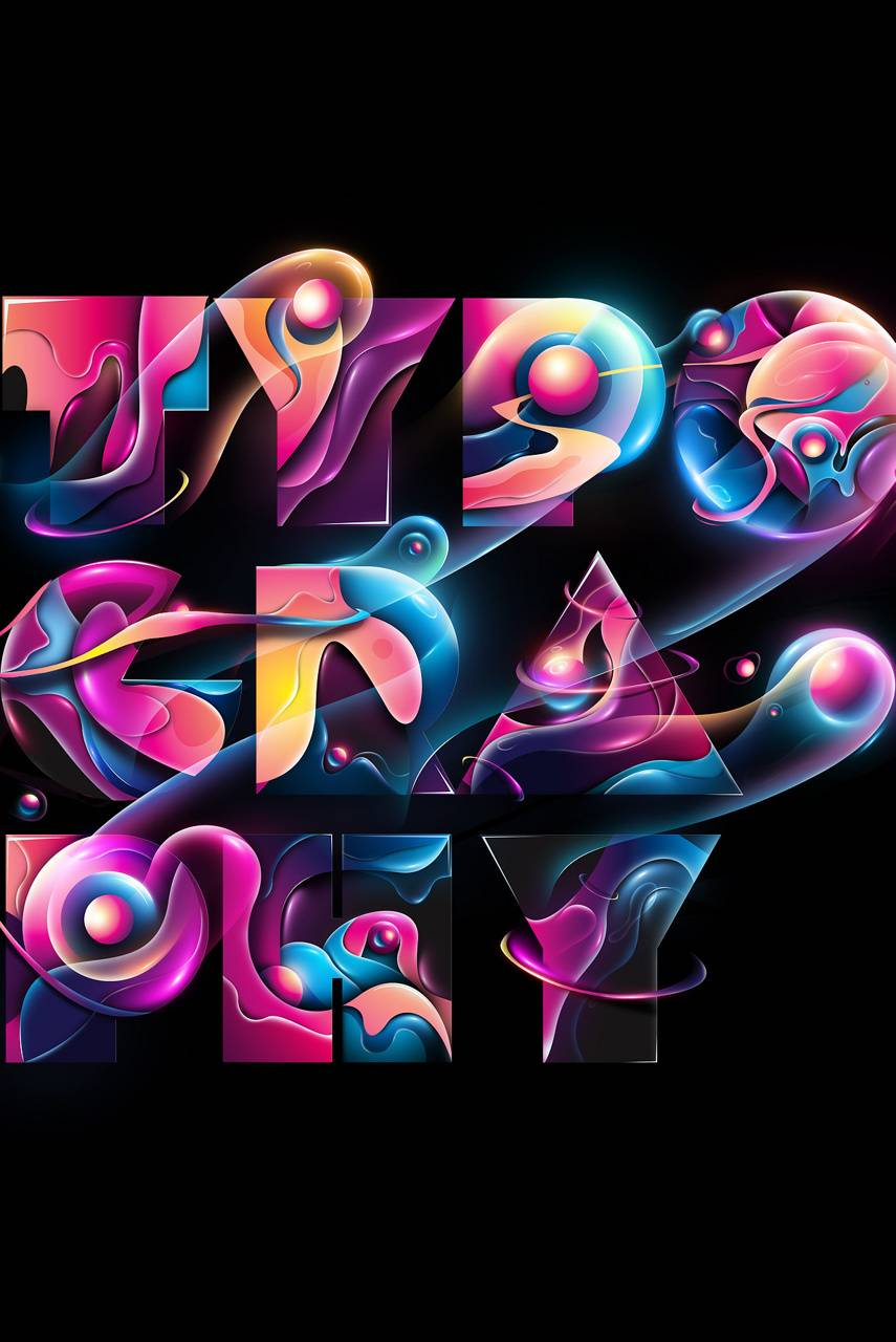 Typography Abstract
