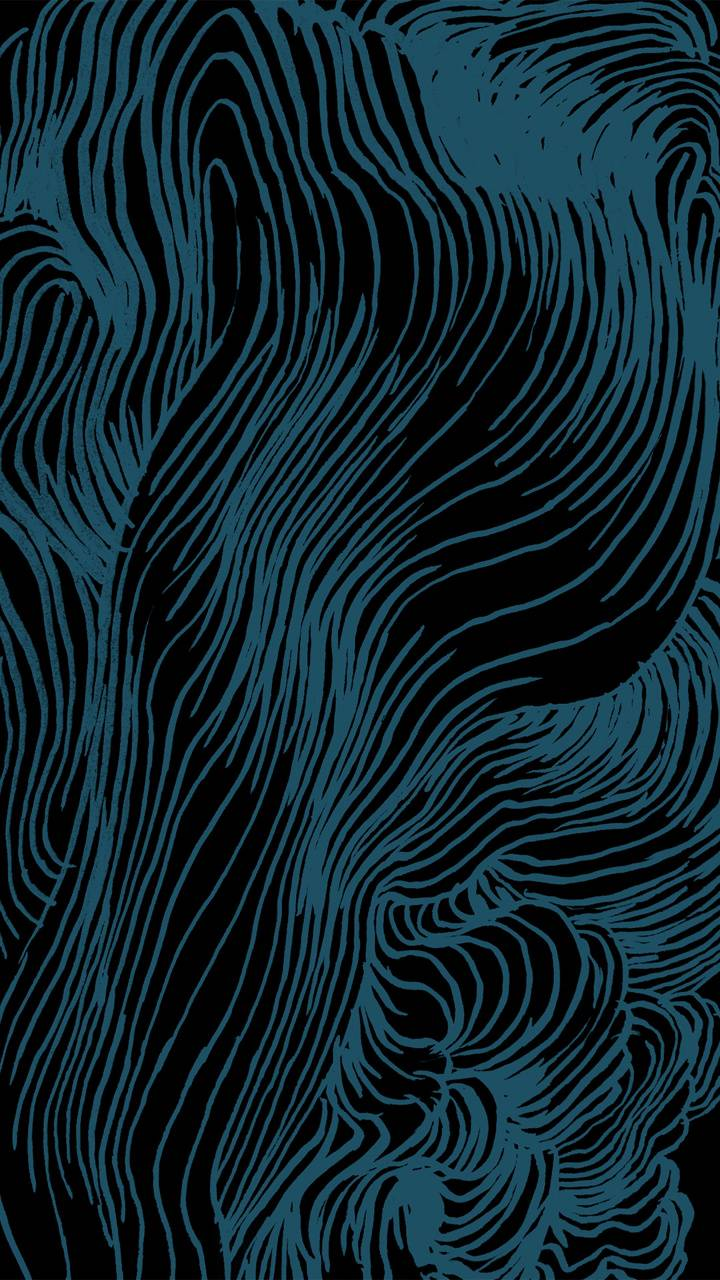 Drawn Blue Lines
