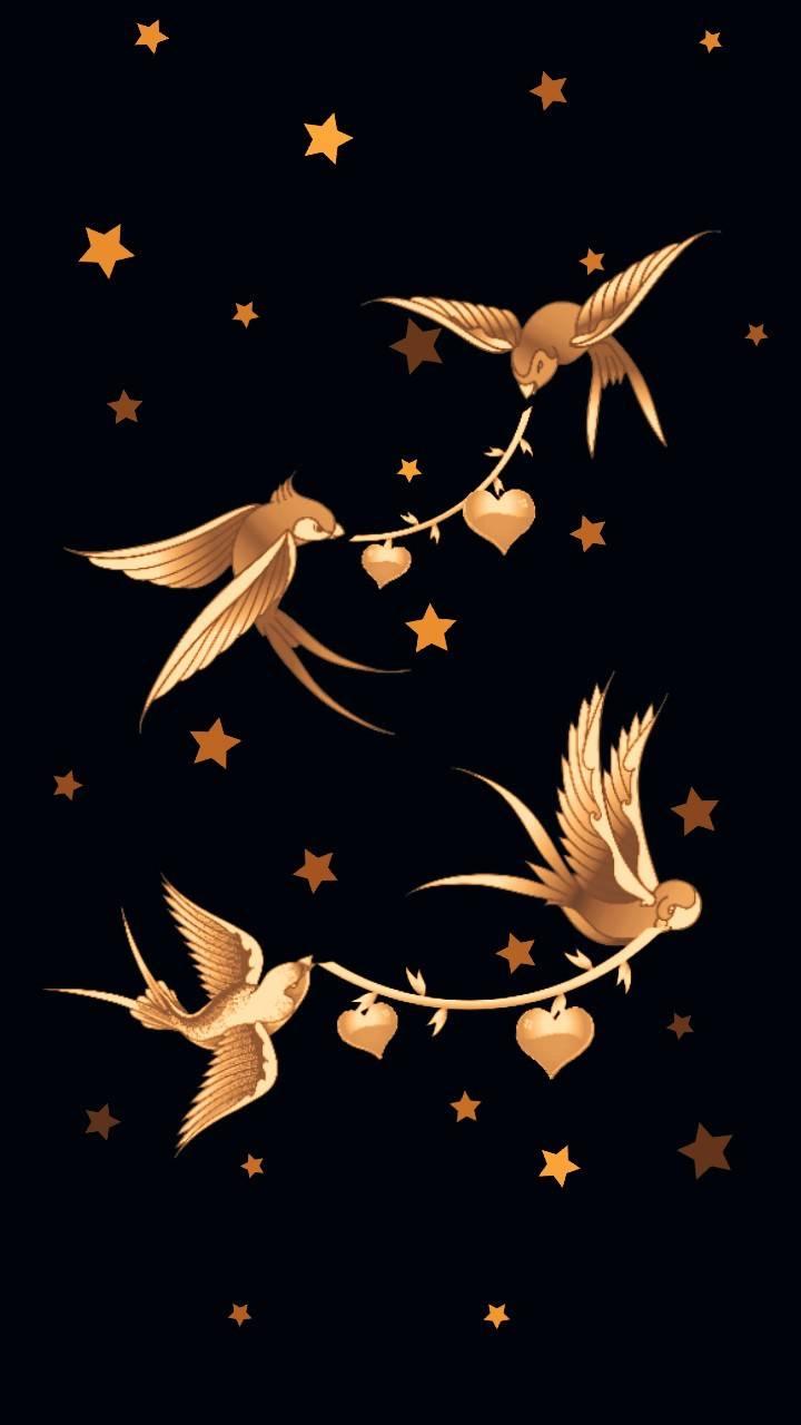 Golden Birds