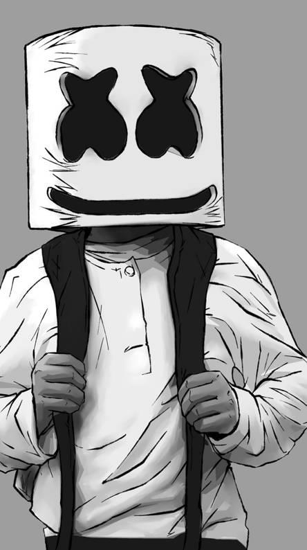 80+ Gambar Animasi Marshmello Keren Paling Bagus