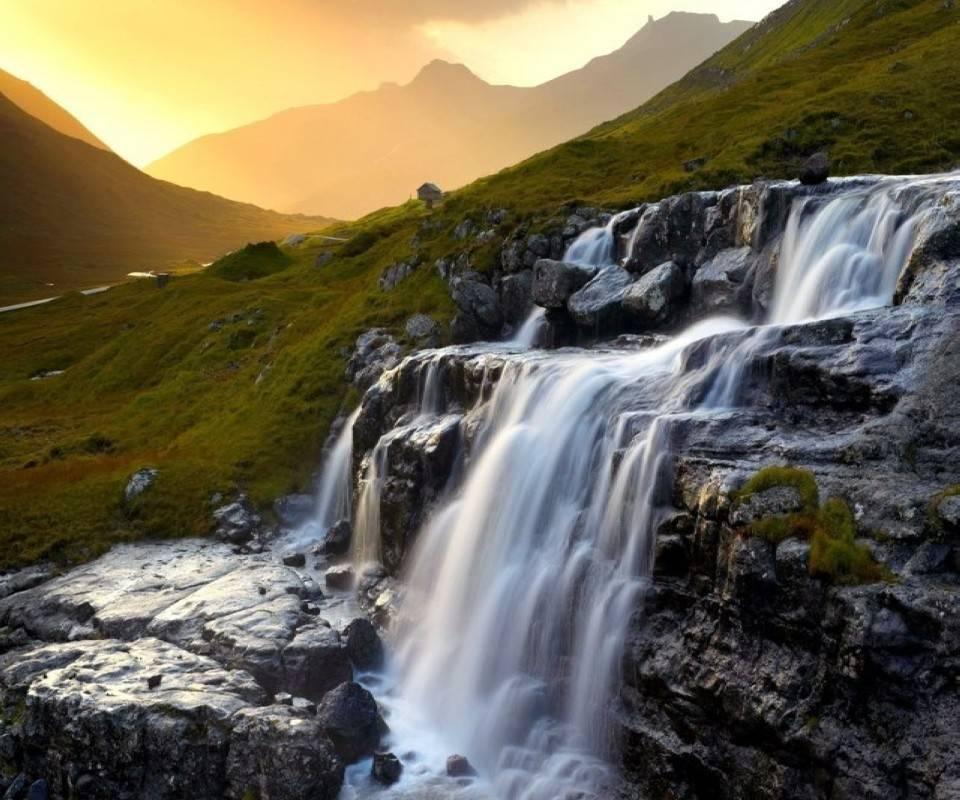 Down Level Waterfall