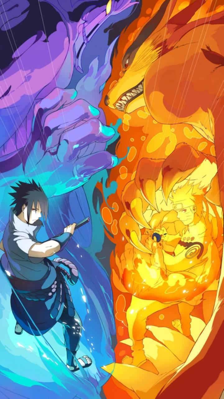 Naruto Vs Sasuke Wallpaper By Mporter93 83 Free On Zedge
