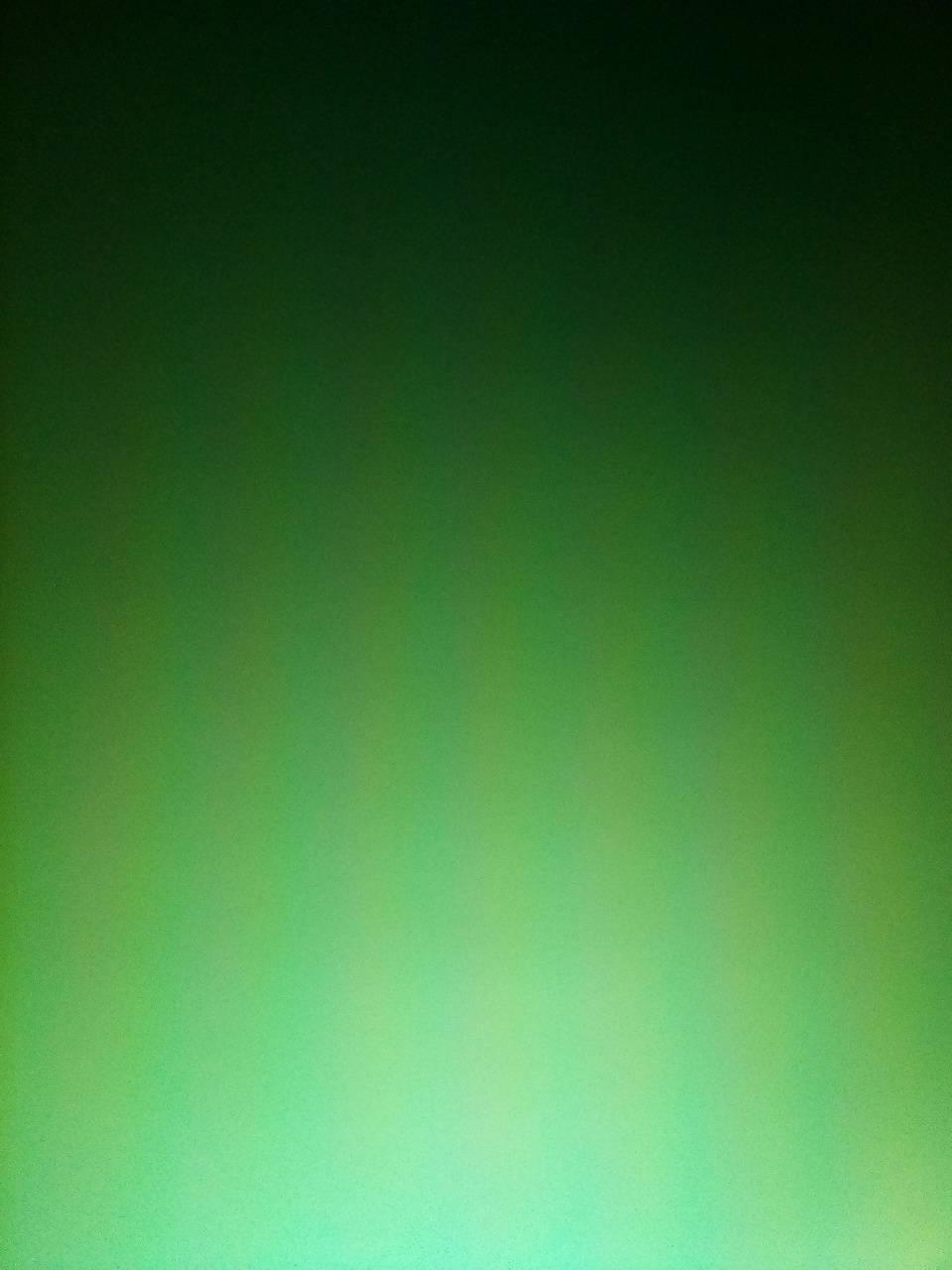 A green screen