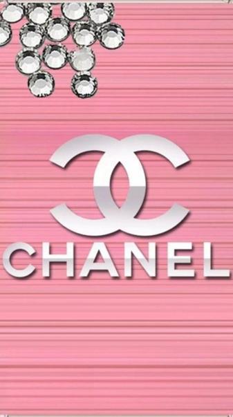 Chanel diamond logo