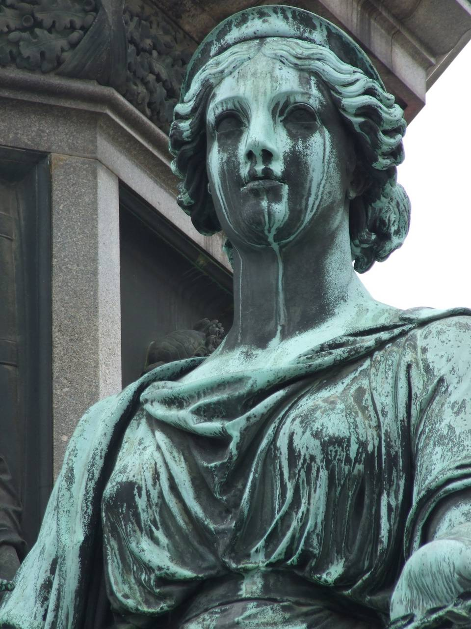 Scary Woman Statue
