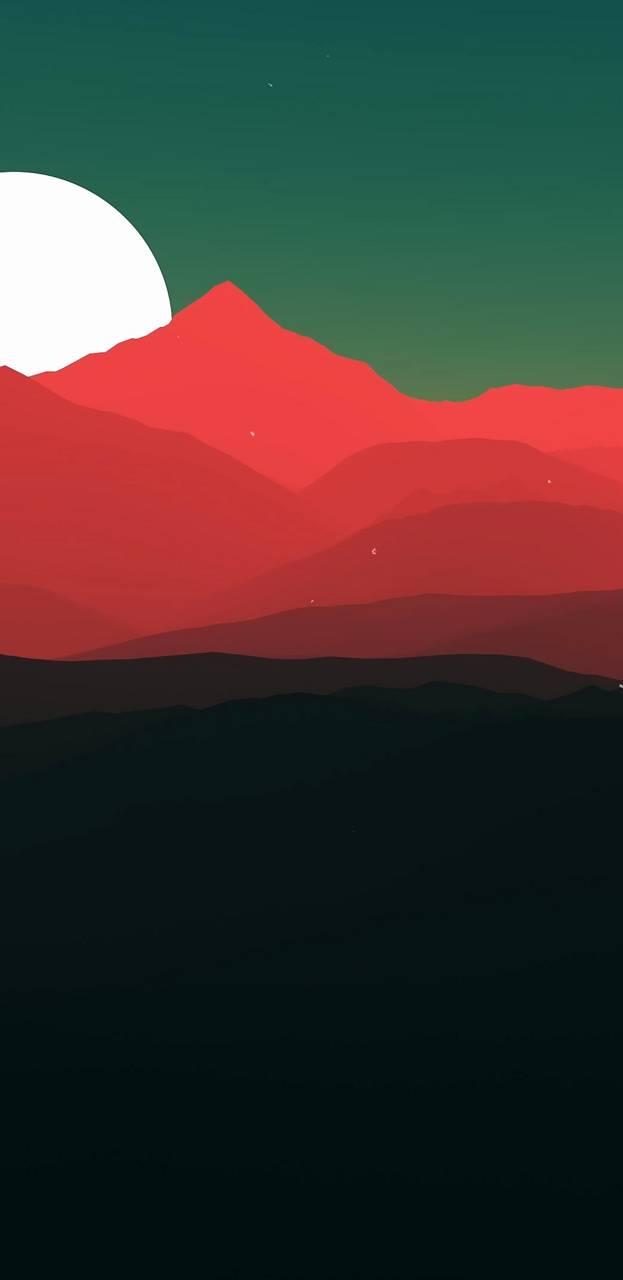 Flat Red Dunes HD