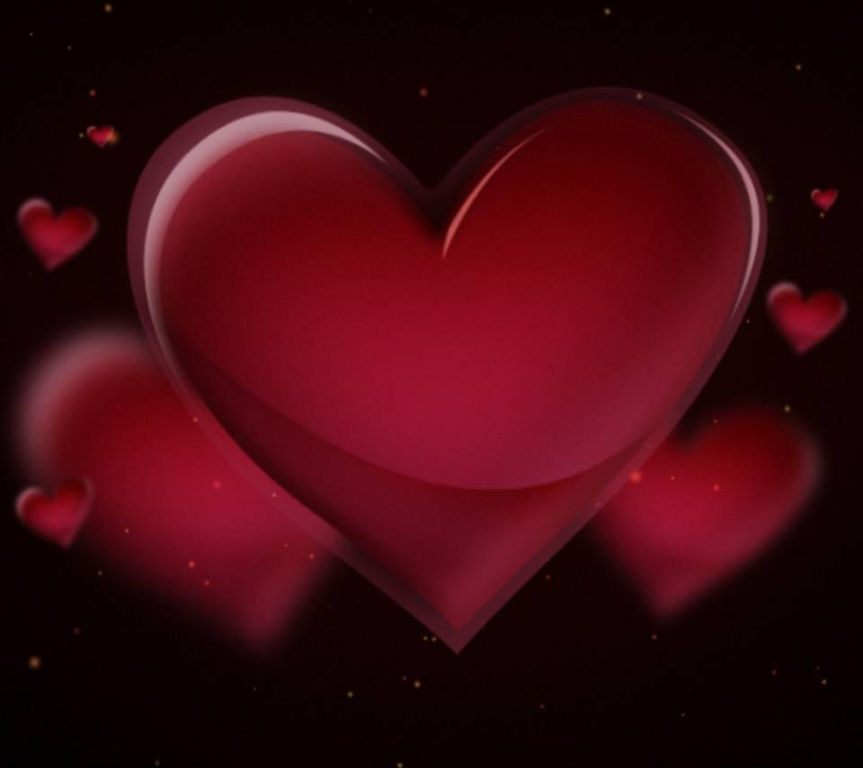 Huge Red Heart
