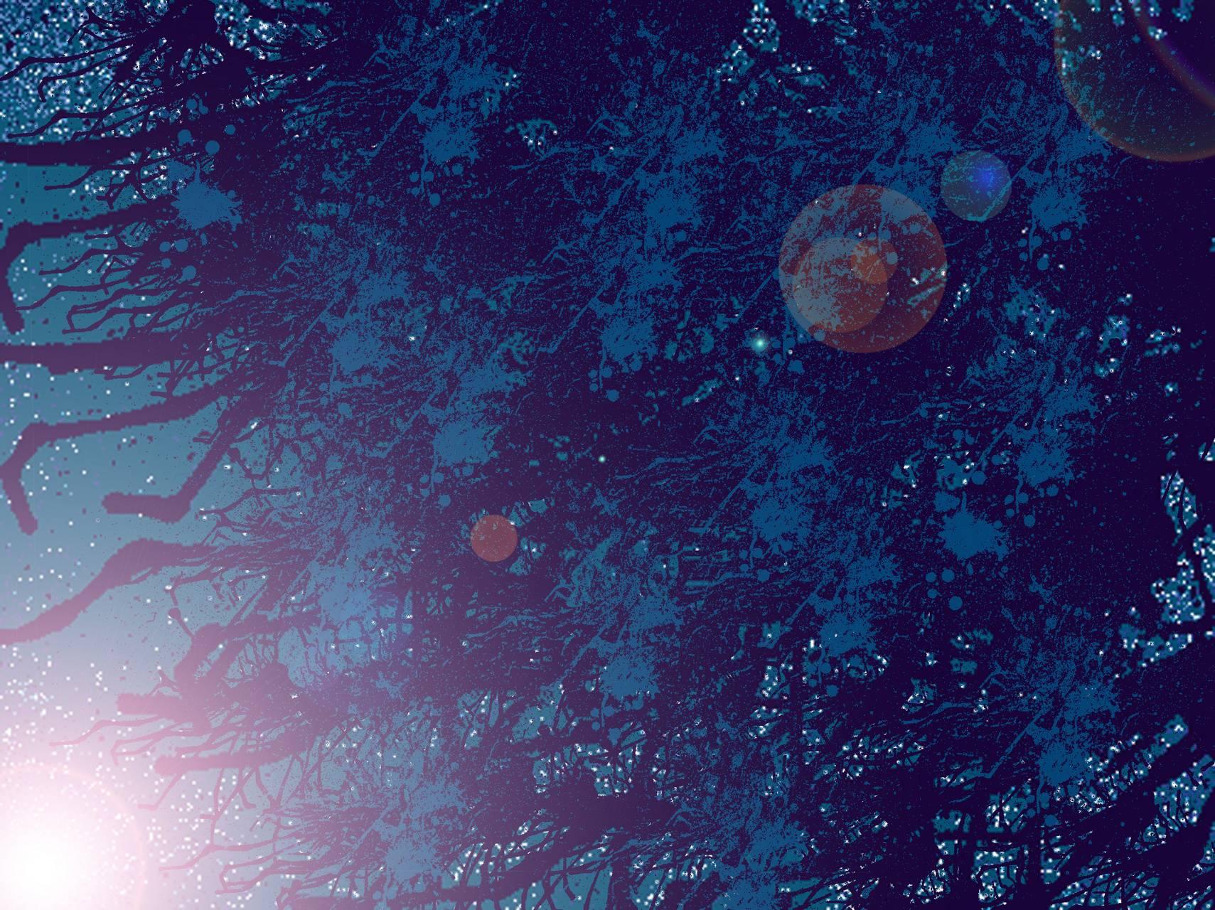 Cyan Root Space 01