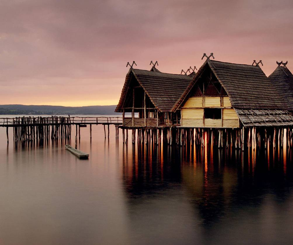 Huts On Water