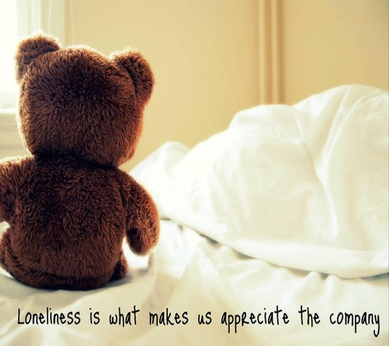 Lonely Teddy Wallpaper By Niya