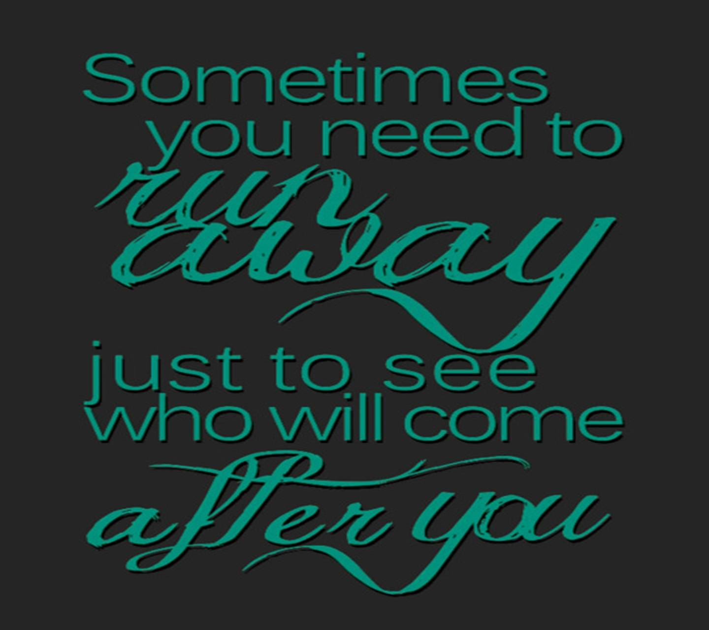 Sometimes You Need