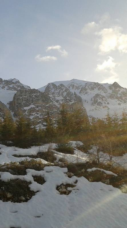 Snow at Senirkent
