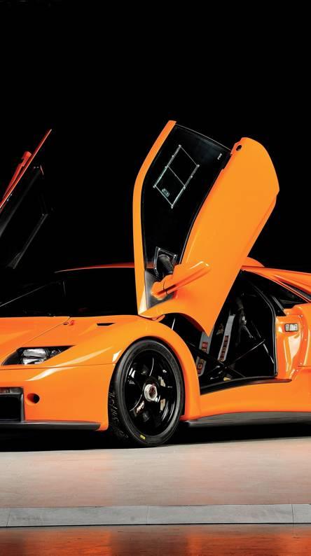 Orange Lamborghini Wallpapers Free By Zedge