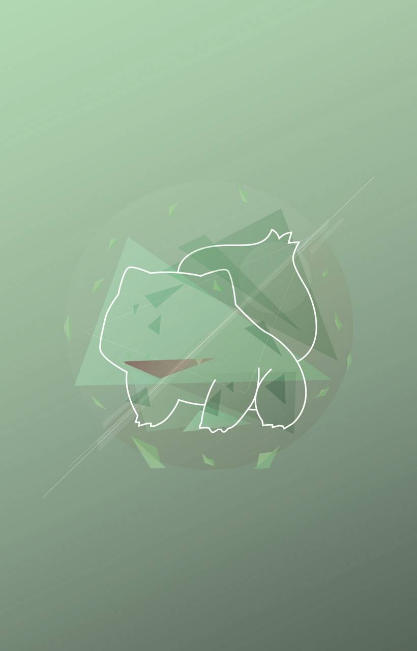 Bulbasaur abstracto