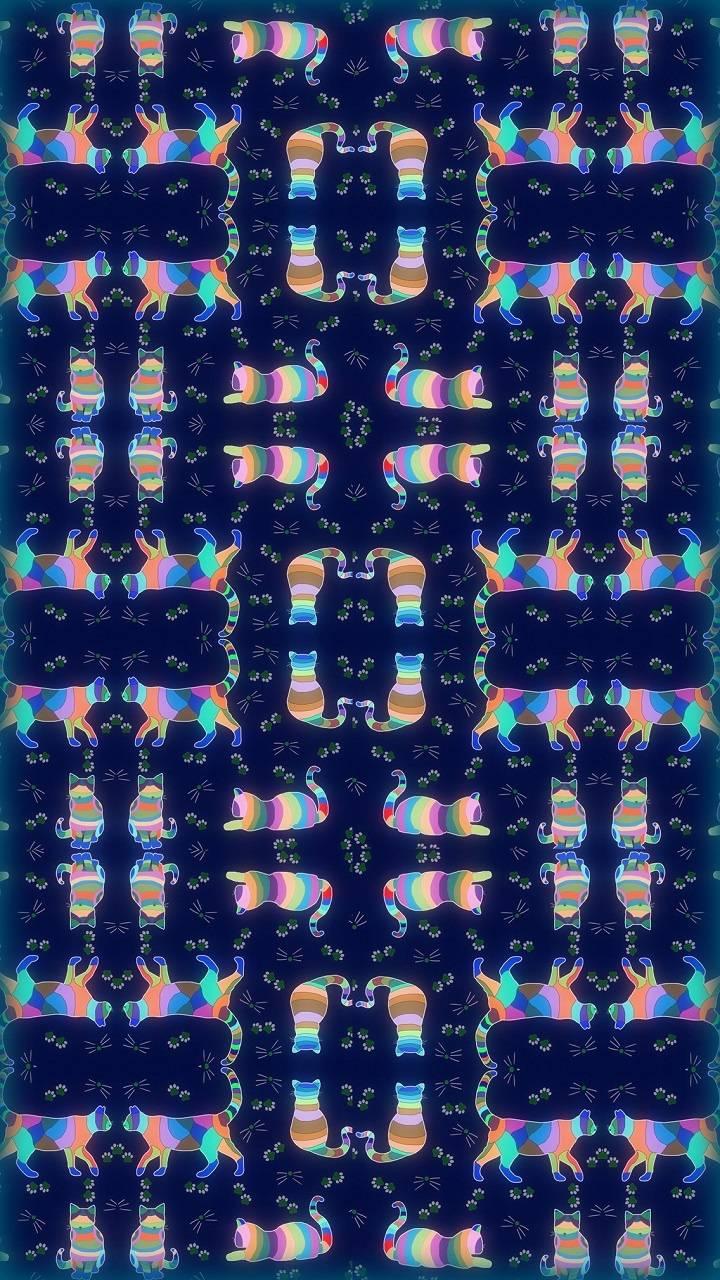 Dark Cats Collage