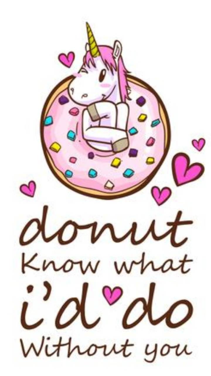 Donut love letters