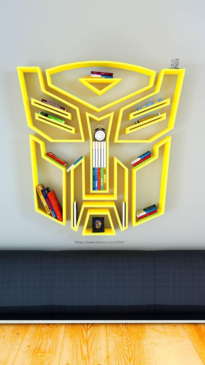 Transformers shelf