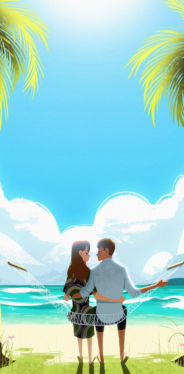 Couple on Paradise