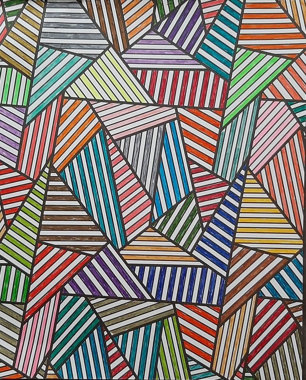 Triangle w lines