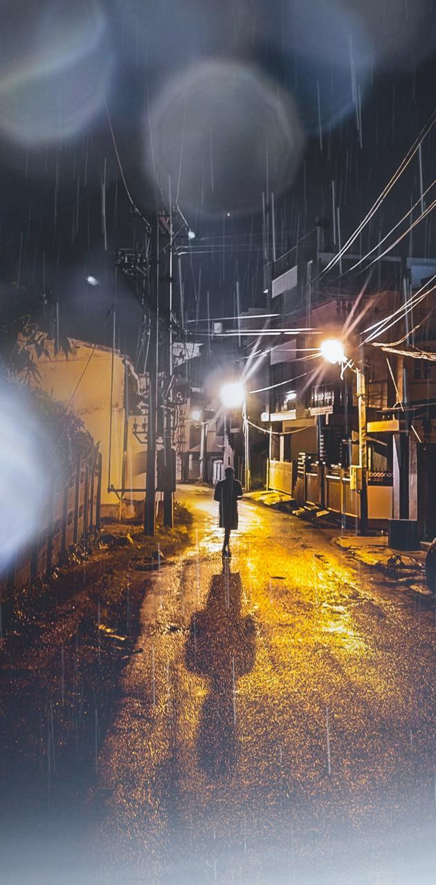 The rain walk