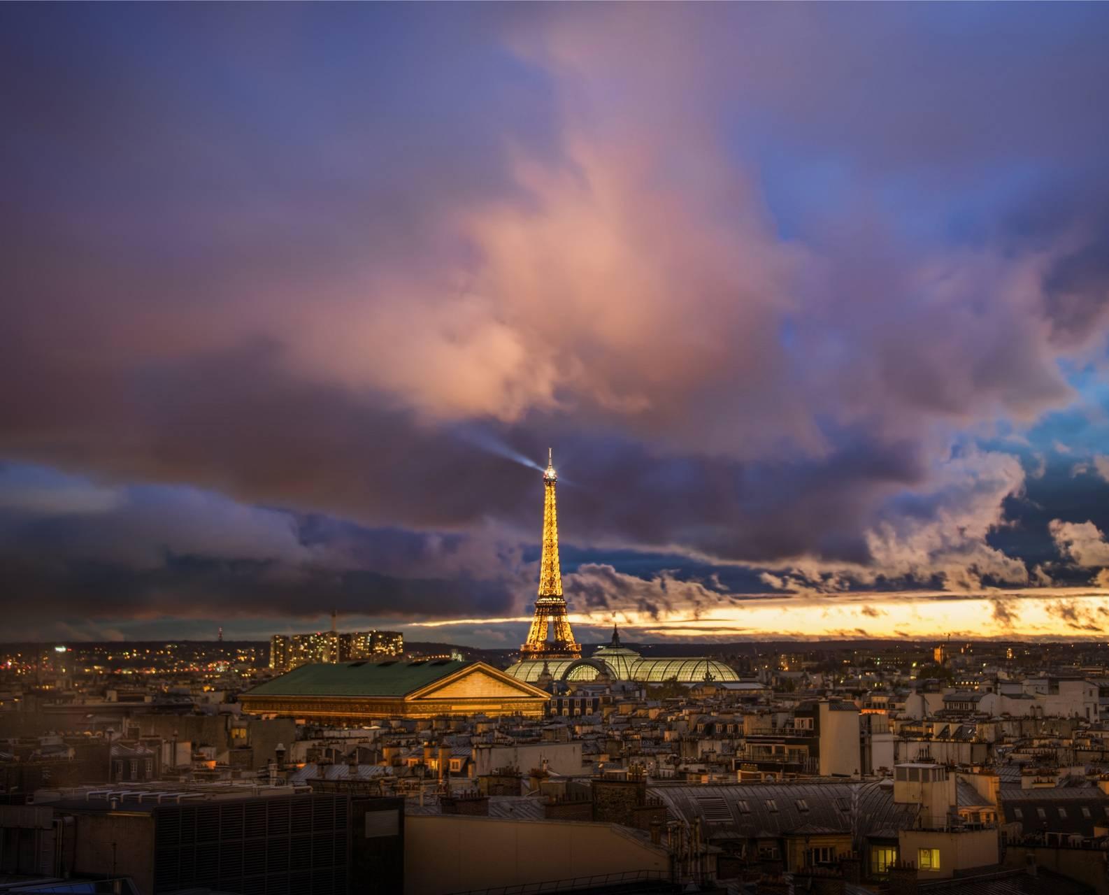 Paris after storm