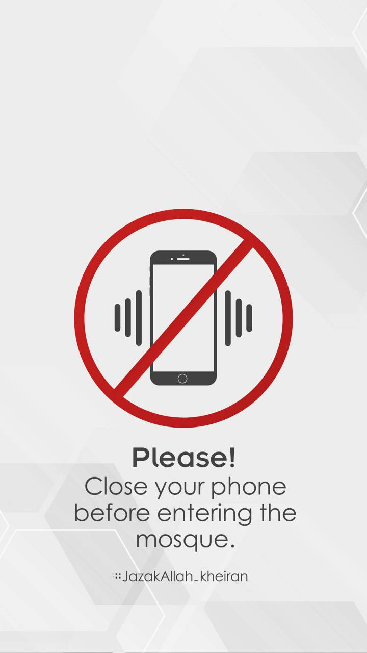 Close phone before