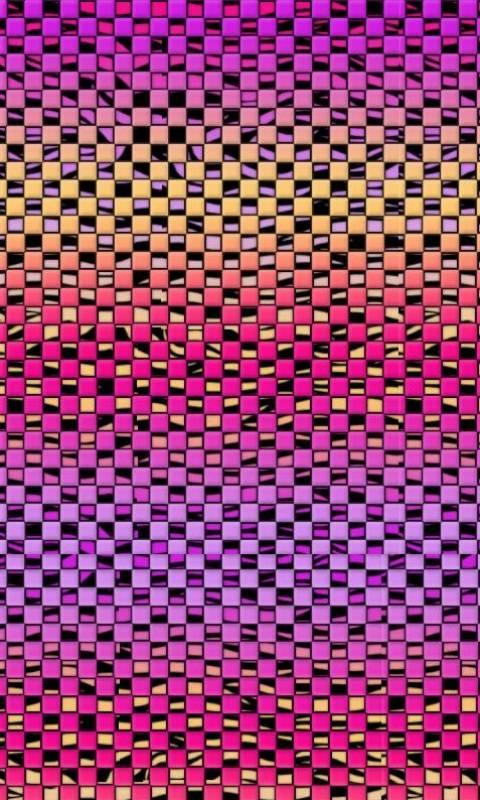 Neon Colored Squares