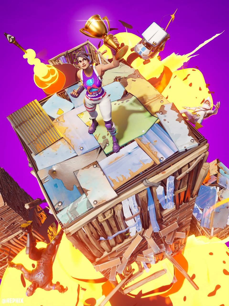 Fortnite World Cup Wallpaper By Paulmb2001 Aa Free On Zedge
