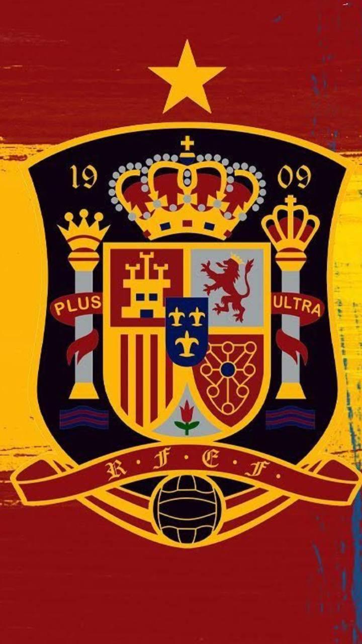 Spain foot logo