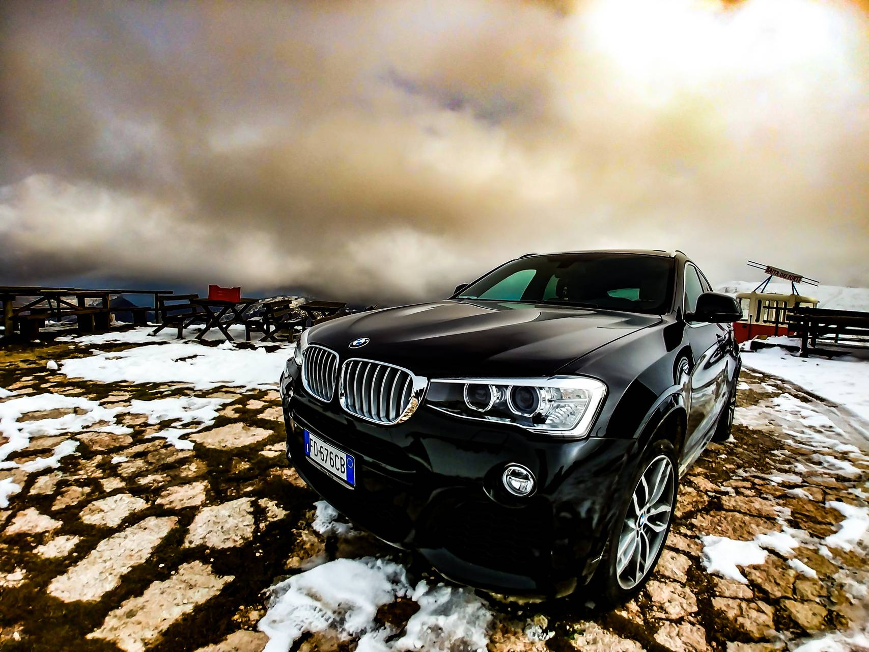 The mountain SUV