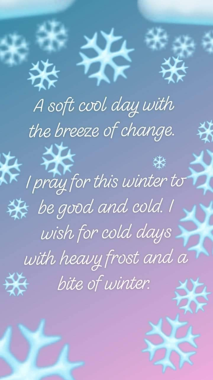 Words of winter