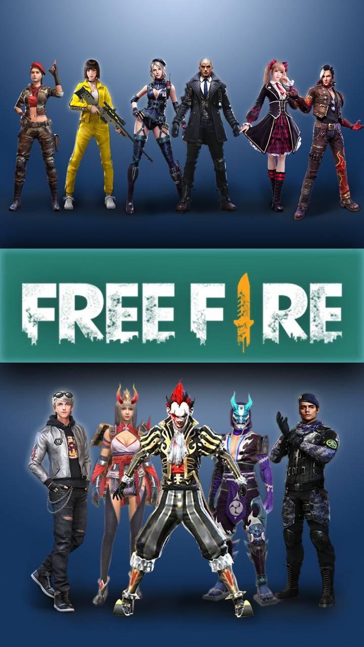 free fire squad