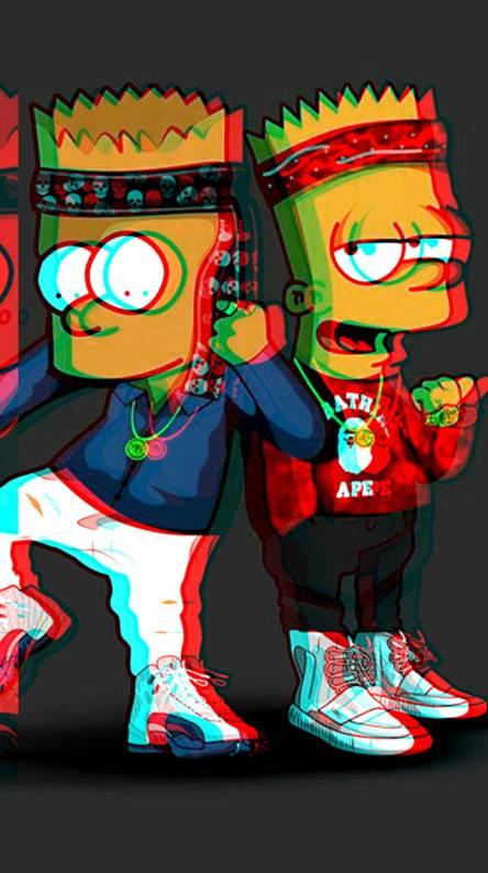 Bape X Bart X 3d