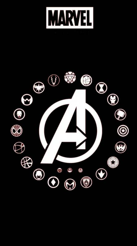 Marvel Logo Wallpapers Free By Zedge