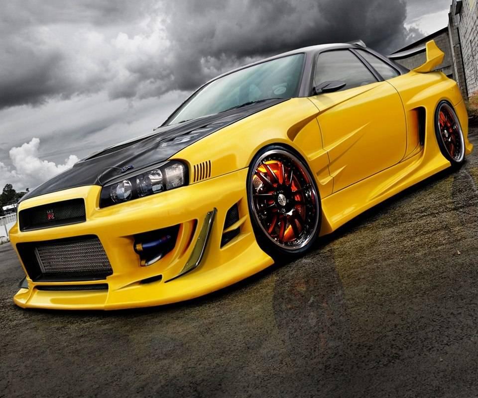 Yellow Skyline