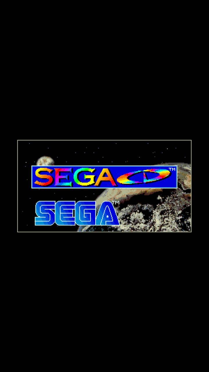 Sega CD Boot Screen