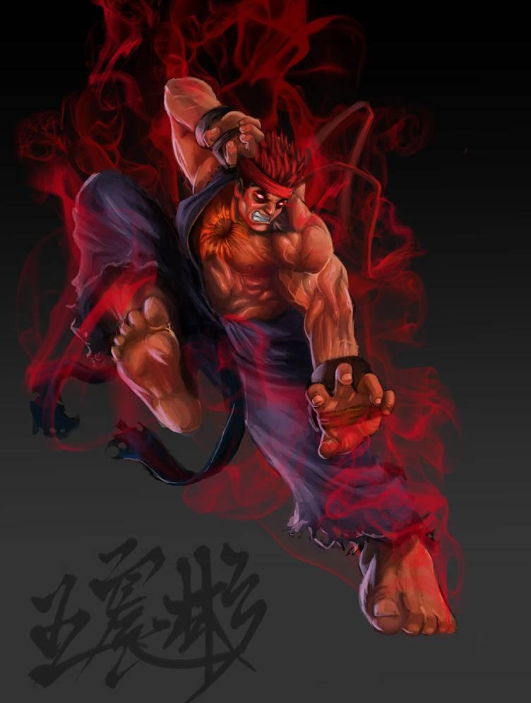 Evil Ryu Wallpaper By Edaj139 F4 Free On Zedge