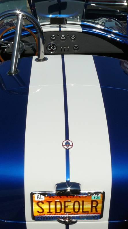 Pretty Blue Car